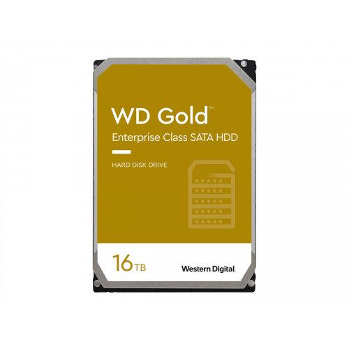 WD Gold Enterprise-Class Hard Drive WD161KRYZ - Hard drive - 16 TB - internal - 3.5&uot; - SATA 6Gb/s - 7200 rpm - buffer: 512 MB