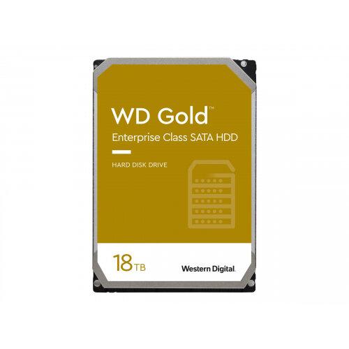 WD Gold Enterprise-Class Hard Drive WD181KRYZ - Hard drive - 18 TB - internal - 3.5&uot; - SATA 6Gb/s - 7200 rpm - buffer: 512 MB