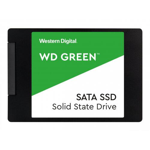 WD Green SSD WDS100T2G0A - Solid state drive - 1 TB - internal - 2.5&uot; - SATA 6Gb/s