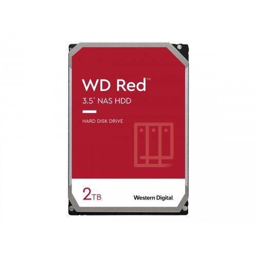 WD Red NAS Hard Drive WD20EFAX - Hard drive - 2 TB - internal - 3.5&uot; - SATA 6Gb/s - 5400 rpm - buffer: 256 MB