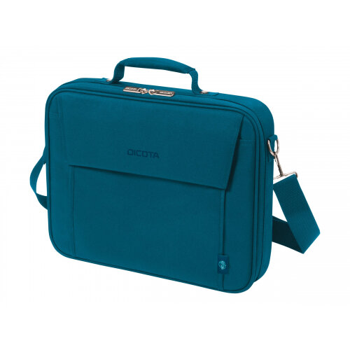 """DICOTA Eco Multi BASE - Notebook carrying case - 15"""" - 17.3"""" - blue"""