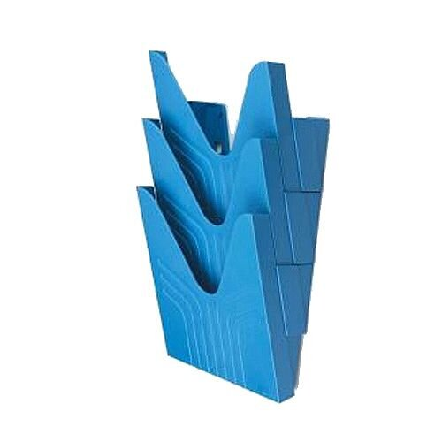 Avery A4 Literature Display File Blue Pack of 3 144-3BLUE