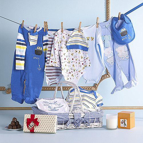 Baby Boy Essentials Hamper