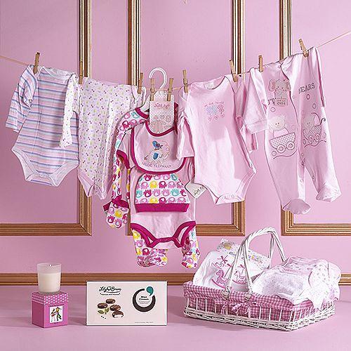 Baby Girl Essentials Hamper