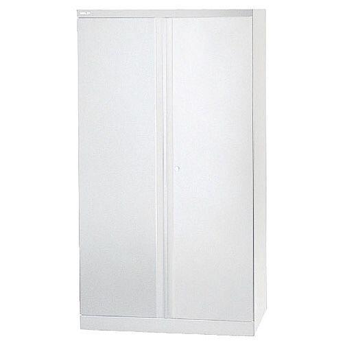 Bisley 72 Two Door Cupboard Chalk White By42033
