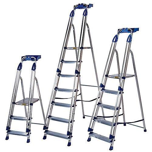 Blue Seal Ladder 6-Tread Aluminium Platform Height 1.25M Capacity 150Kg 311496