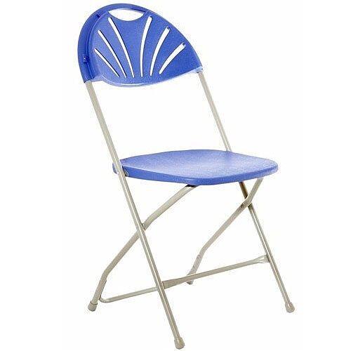 Classic Plus Blue Folding Chair