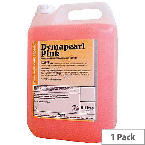 Dyma Hand Soap Refill 5 Litre Pink 5 Litre Pack 1 KCDPP