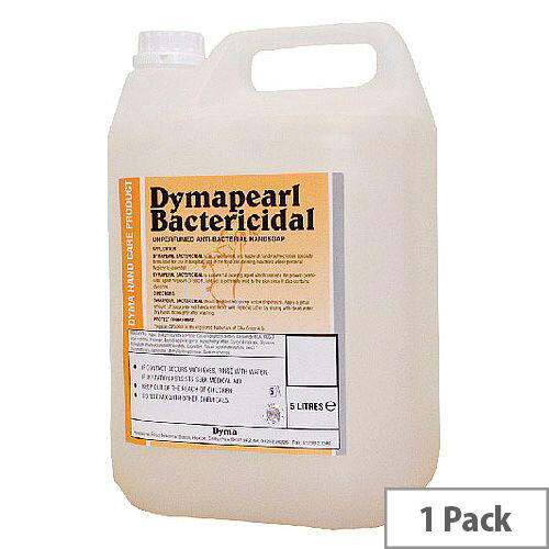 Dyma Perl Anti-Bacterial Hand Cleaner Refill 5 Litre Pack 1 KDCBAC