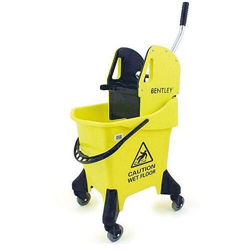 Bentley Mobile Mopping Unit Yellow 31 Litre