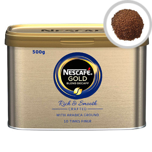 Nescafe Gold Blend Decaffeinated Instant Coffee 500g Pack of 1 12284222