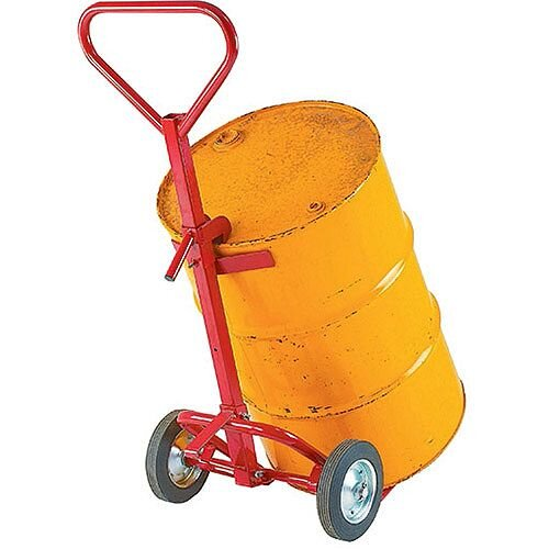 Drum Truck Red 350kg Capacity With Pneumatic Wheels 7264C 309108