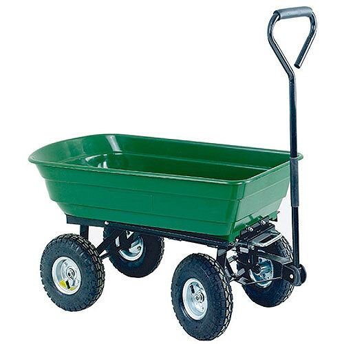 Dumping Cart 125 Litre Green/Black 382074
