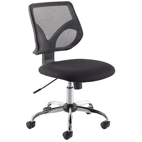 Jemini Medium Mesh Back Task Operator Office Chair Black KF73602