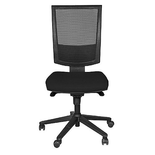 Flash Mesh Office Chair With Tension Control &Adjustable Back Black