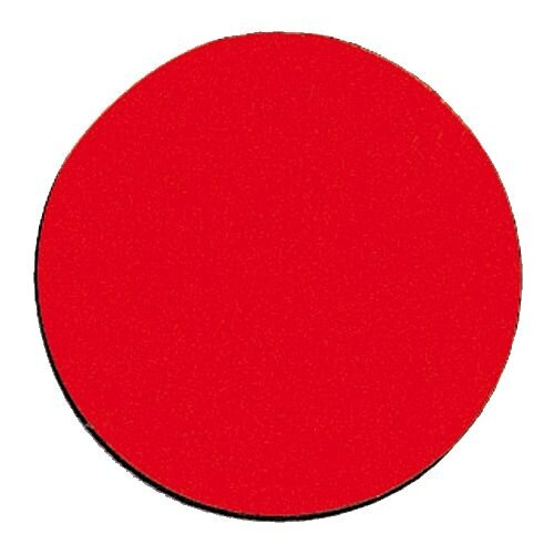 Franken Magnetic Red Circle Symbols Pack of 50 M861 01