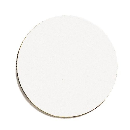 Franken Magnetic White Circle Symbols Pack of 50 M861 09