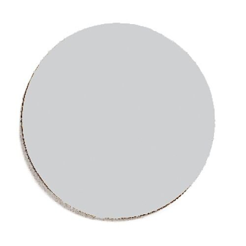 Franken Magnetic Grey Circle Symbols Pack of 50 M861 12
