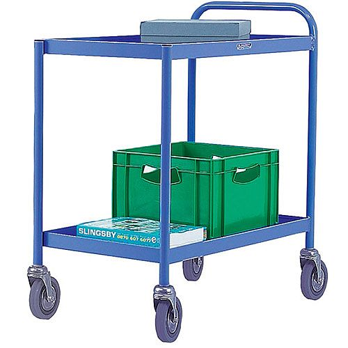 General Purpose Trolley 2 Tier Blue 331491