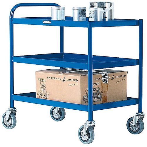 General Purpose Trolley 3 Tier Blue 331493
