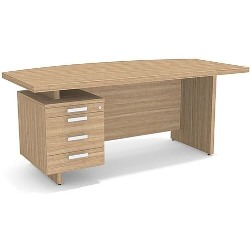 Grand Executive Office Desk With Left Side Drawers 1800mm Marbella
