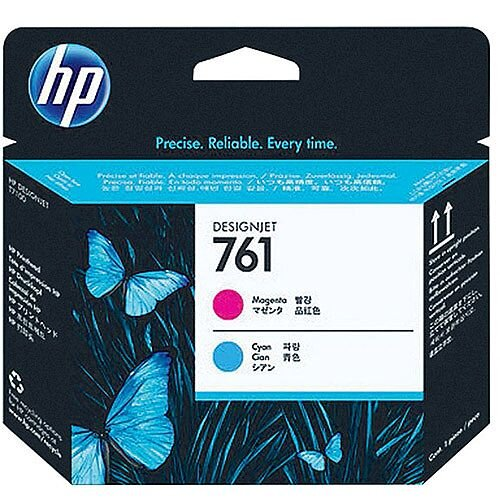 Hewlett Packard No761 Design Jet Print Head Magenta/Cyan CH646A