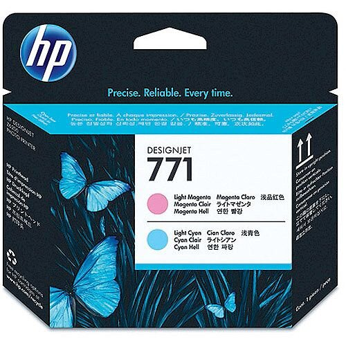Hewlett Packard No771 Design Jet Print Head Light Magenta/Light Cyan CE019A