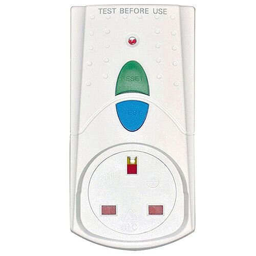 HI Distribution RCD Safety Plug Orange PB5000