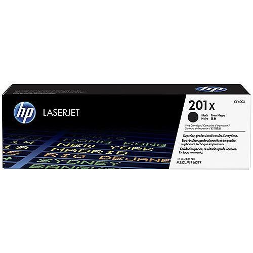 HP 201X Original JetIntelligence LaserJet Toner Cartridge High Yield Black CF400X
