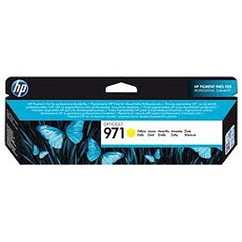 HP No971 Officejet Ink Cartridge Yellow CN624AE