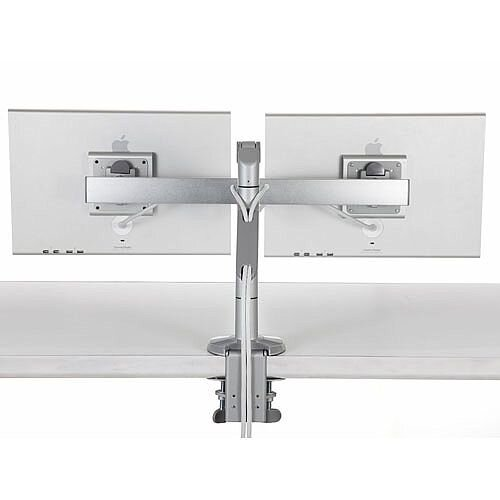 """Humanscale M8 Monitor Arm With Crossbar VESA Mount Compatible for up to 14"""" Screen"""