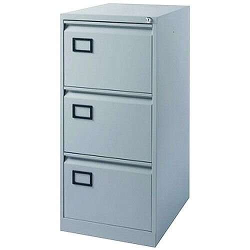 3-Drawer Filing Cabinet Pearl Grey Jemini By Bisley