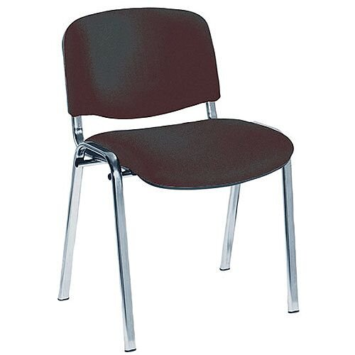 Jemini Ultra Multi-Purpose Stacking Chair Chrome Legs/Charcoal KF03350