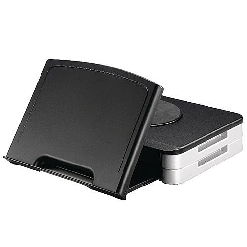 Q-Connect Monitor Stand/Copyholder Black