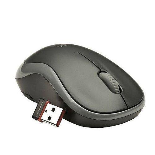 Logitech M185 Wireless Mouse Grey 910-002235