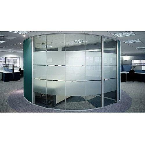 Logika 5000 Single Glazed Office Partitioning