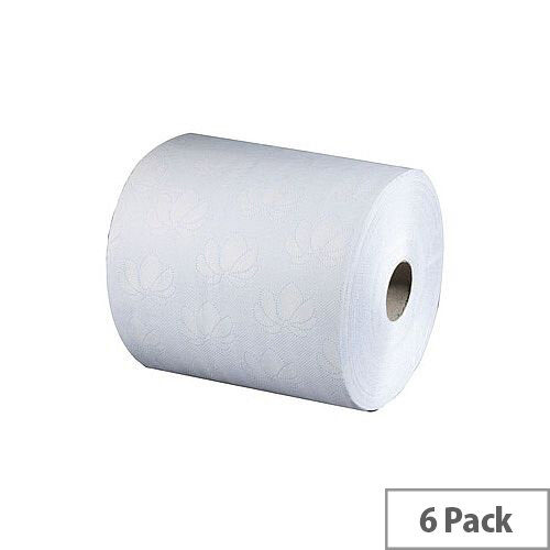 Tork Electronic White 2 Ply Hand Paper Towel Refill Rolls 195mm Wide Sheet (6 Rolls) 4031712