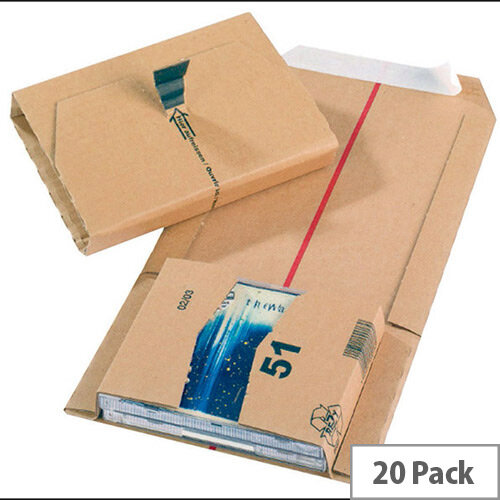 Jiffy Mailing Cardboard Boxes 145x126x55mm Pack of 20