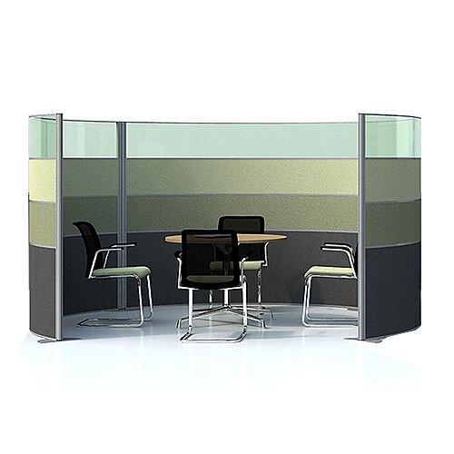 MARATHON Meeting Pod Part-Glazed Green