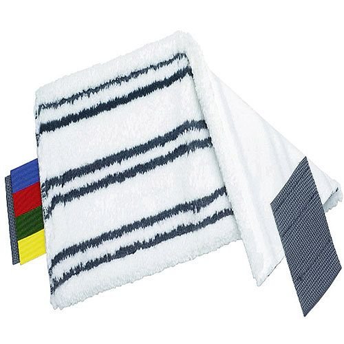 Vileda Ultra-Speed Microlite Microfibre Mop Pad White With Assorted Tags 116480