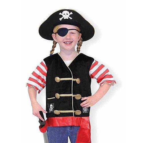 Pirate Kids Costume 3-6 Years