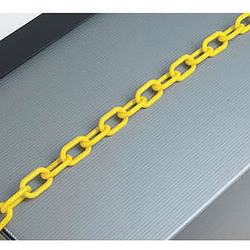 Plastic Chain 8mm Yellow 360076