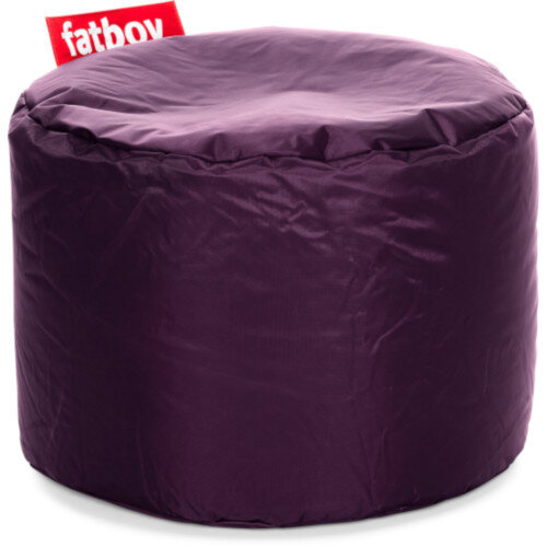 The Point Bean Bag Pouf Stool 35x50cm Dark Purple Suitable for Indoor Use - Fatboy The Original Bean Bag Range