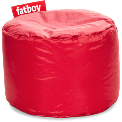 The Point Bean Bag Pouf Stool 35x50cm Red Suitable for Indoor Use - Fatboy The Original Bean Bag Range