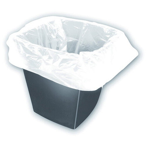 White Square Bin Liners 30 Litres Pack of 1000 KF73380