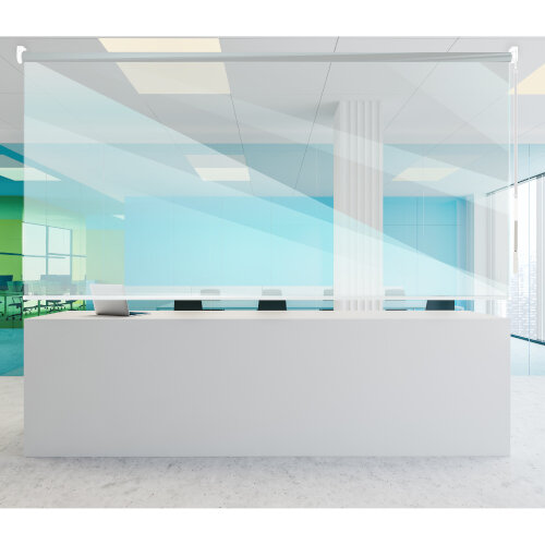 Rollerscreens - Transparent Made to Measure Screens Providing Protection Against Viruses