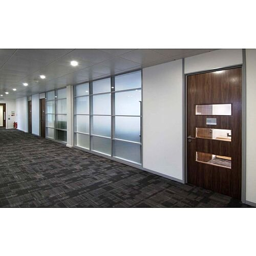 SAS SYSTEM 6000 Single Glazed Re-locatable Office Partitioning System