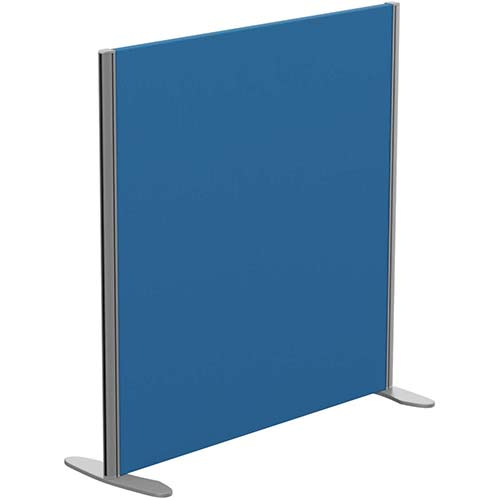 Sprint Eco Freestanding Privacy Acoustic Screen Straight Top W1000xH1000mm Blue - With Stabilising Feet