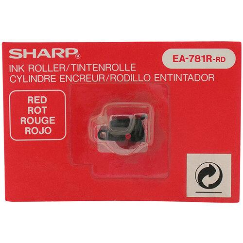 Sharp EL 1607p Adding Machine Ink Red