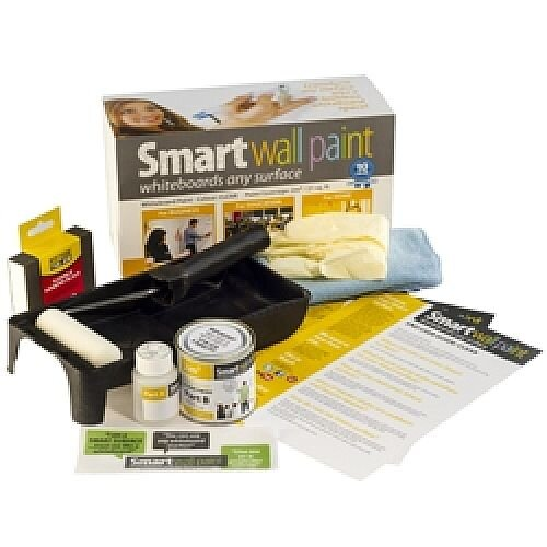 Smart Wall Whiteboard Paint  2m2 Kit - Clear Paint